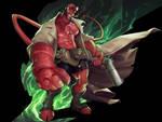 Hellboy by silverjow