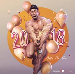 Happy2018 by silverjow