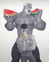 Hunks of the week #64 by silverjow