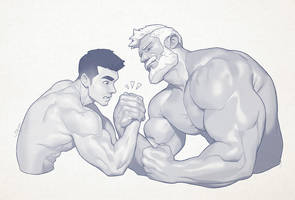 Hunk of the week #78 by silverjow