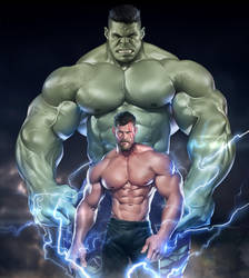 Thor: Ragnarok by silverjow