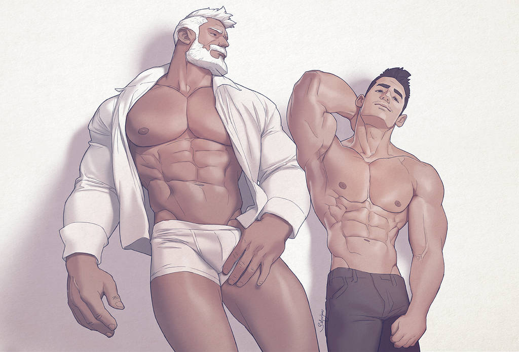 Hunks of the week #89 by silverjow