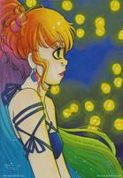 Rainbow Girl by keh-arts