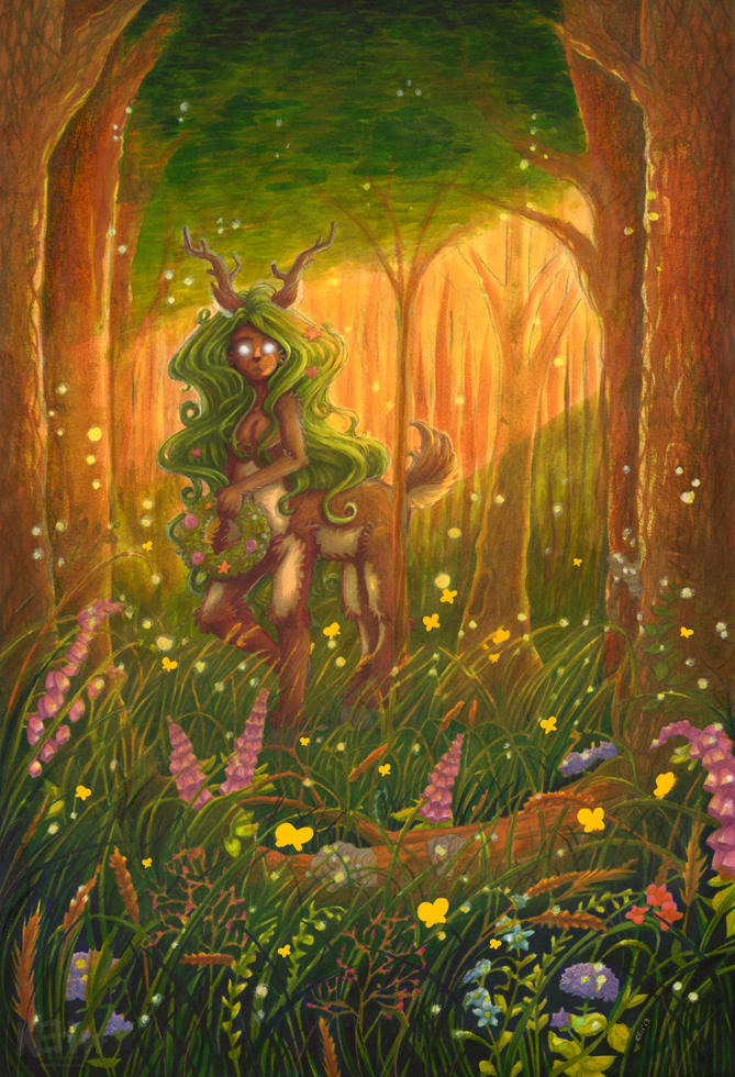 + Forest Faun + by keh-arts