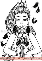 Patreon Reward   Princess Shaalin by keh-arts