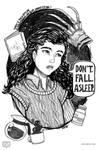 Inktober | Women in Horror | #01 Nancy Thompson by keh-arts