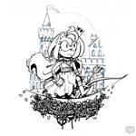 Rosette Concept Art | Amy by keh-arts