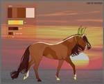 Horse Adopt Auction /sunset by KaisarReitz