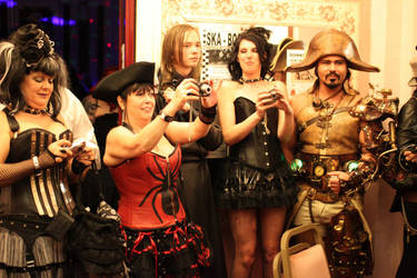 steampunk overlord party by overlord-costume-art
