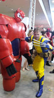 MCC: Wolverine and Baymax: Big Hero SiX-Men by MummeryComics