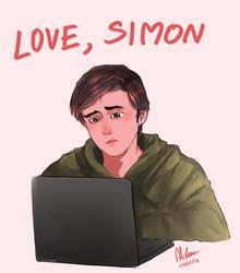 Love, Simon FA 03 by Finalheart004