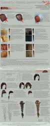 Tutorial: Painting Hair Part 2 by ToySkunk