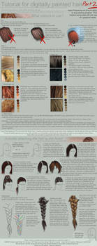 Tutorial: Painting Hair Part 2 by ToySkunk