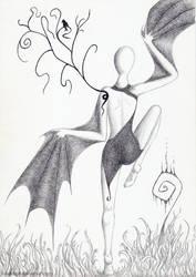 The Dancer by LunaticSqirrel