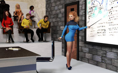 Druscilla Science Officer already by jerife