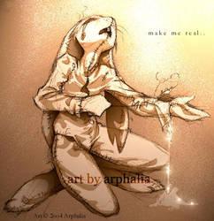 Make Me Real by arphalia