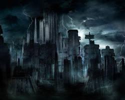 The Dark City by bigdaddyk