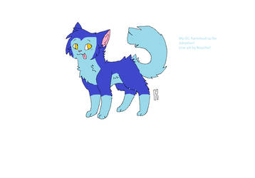 Raincloud the Cat Adoptable by MuffinswithPepper