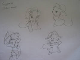 Mouse Chronicles Character sheet - Cypress by AstralxPanda