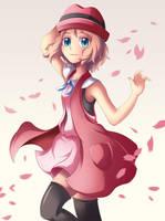 Serena Pokemon XYZ by Bicoitor