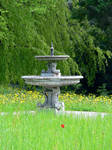 lonely fountain by clandestine-stock