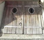 old basement door II by clandestine-stock