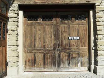 old wooden door by clandestine-stock