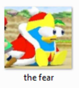 King Dedede THE FEAR by DelightfulDiamond7