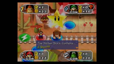 Guess who got a hidden block in Mario Party 2 by DelightfulDiamond7