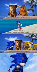 Sonic The Hedgehog Movie Poster Meme by DelightfulDiamond7