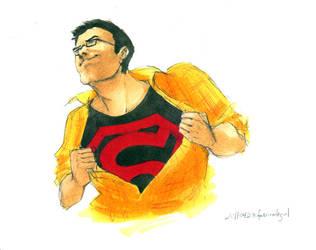 Superboy by fascinategirl