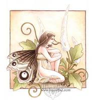 Black Cohosh Fairy by LiquidFaeStudios