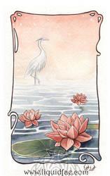 Water Lilies by LiquidFaeStudios