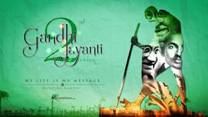 Gandhi Jayanti by xvsvinay
