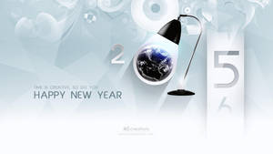 Happy New Year  2015 by xvsvinay