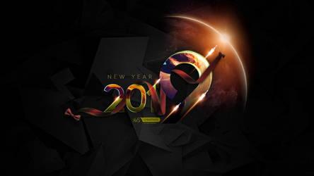 Happy New Year 2019 by xvsvinay