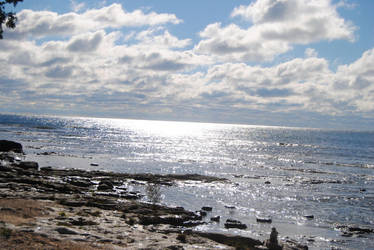 2013-10-06 Door County: Lake Michigan by charliemarlowe