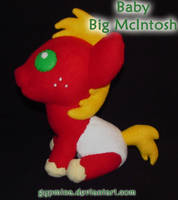 Commission: Baby Big McIntosh by Gypmina