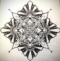 Spirit mandala by Luna-Tech-art
