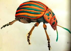 Rainbow Beetle by Luna-Tech-art