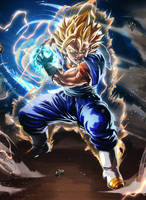 FINAL KAMEHAMEHA !! - Dragon Ball Vegito by CaptainJuu
