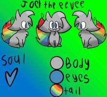 Joel the eevee *my fursona* by Its-Just-JoelTM