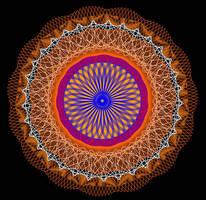 Mandala by Mariagat