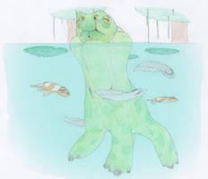Creeper and Fish by Biofauna25