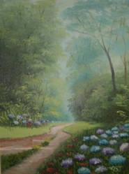 A calm way by Meggy-SJ