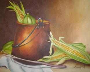Just corn by Meggy-SJ