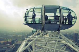 Piece of London Wheel by black-ladybird