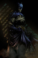 The Dark Knight by brunomazzini