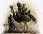 The Ostrich and I by mr-nick