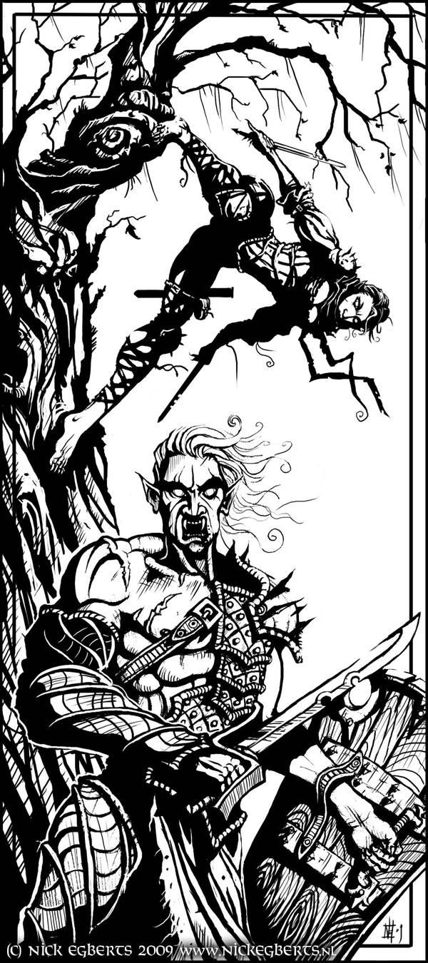 Vampire Duo by mr-nick